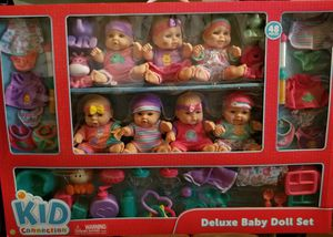 Kid connection 48 piece doll set for Sale in Mesa, AZ