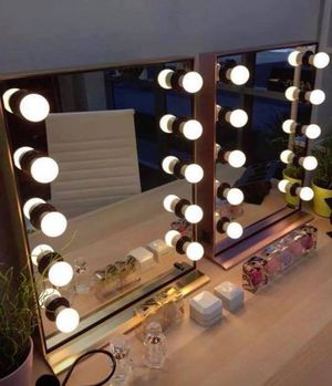 New Makeup Vanity Mirrors Available in Different Styles- Prices Vary for Sale in Chino, CA