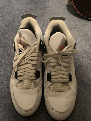 Jordan 4 cement size 12 for Sale in Burlington, NJ