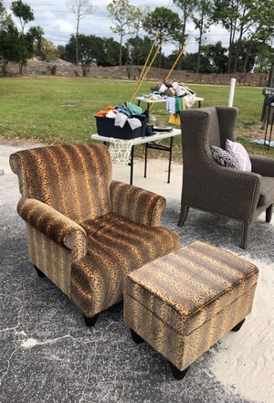 Chair and ottoman for Sale in Winter Haven, FL