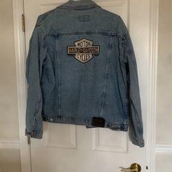 Harley Davidson Jean Jacket Sz L for Sale in Puyallup,  WA