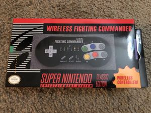Hori snes Super Nintendo wireless fighting commander controller for Sale in Tempe, AZ