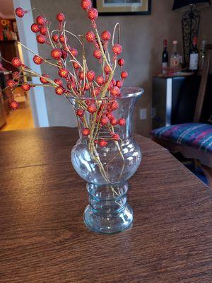 "Beautiful Glass Vase! 9""x4"", Flowers, Decor for Sale in Seattle, WA"