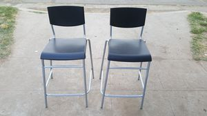Ikea Stig Back Support Bar Stools for Sale in Fresno, CA