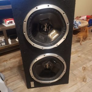 Two 12 Inch Subs for Sale in Whittier, CA