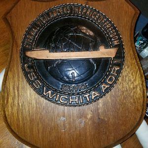 Navy Plaque USS Wichita for Sale in Everett, WA