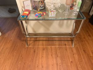 Brand new glass console table for Sale in Boston, MA