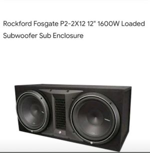 Rockford P2 12 inch subs for Sale in Sioux Falls, SD