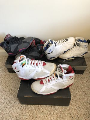 FOR SALE: Air Jordan 7 'DMP' & 'CDP hare' for Sale in Washington, DC