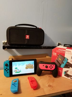 Nintendo switch ultimate bundle tons of games for Sale in Santa Ana, CA