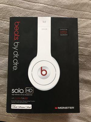 White Beats Solo HD $60 for Sale in Aurora, CO