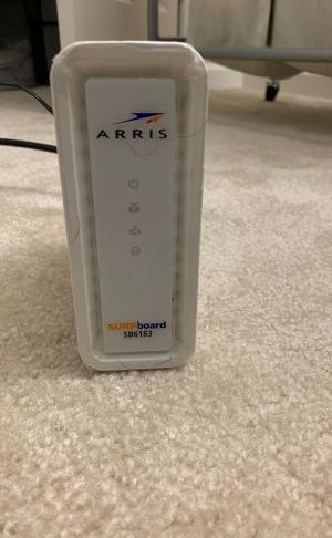 ARRIS SB6183 surfboard modem for Sale in Germantown, MD