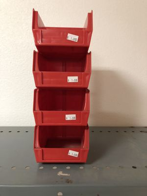 NICE STACKABLE STORAGE CONTAINERS!! for Sale in Austin, TX