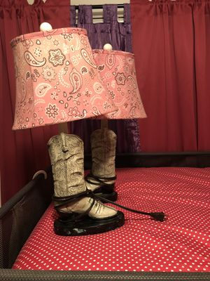 Cowgirl lamps for Sale in Modesto, CA