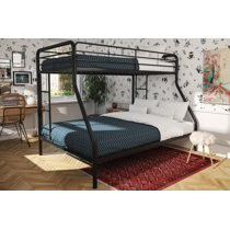 DHP Twin Over Full Metal Bunk Bed Frame for Sale in Akron, OH