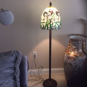 Stained Glass floor lamp 3ft tall for Sale in Randallstown, MD