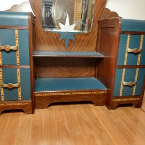 Art Deco Dresser With Mirror for Sale in Nashville, TN