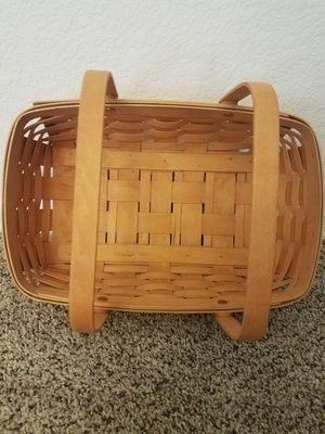 Longaberger basket for Sale in Scottsdale, AZ