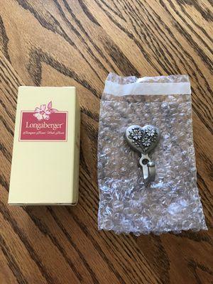 Longaberger Bouquet Heart Wall Hook (NIB) for Sale in Port Deposit, MD