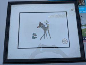Disney's Bambi serigraph for Sale in Vancouver, WA
