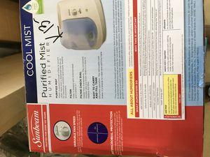 (please read description) purified mist humidifier for Sale in Kingsburg, CA