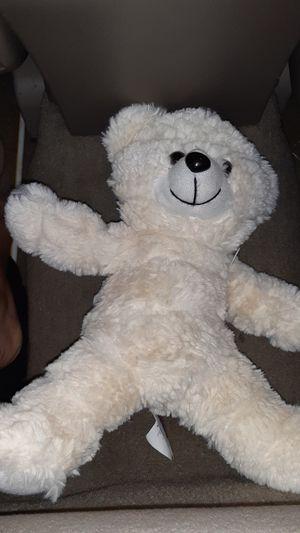 White Fluffy Teddy Bear for Sale in Garden Grove, CA