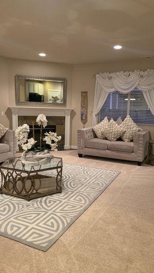 Furniture sofa and love seat said for Sale in Puyallup, WA