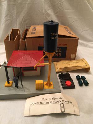 Postwar Lionel Diesel Refueling Station for Sale in Centreville, VA