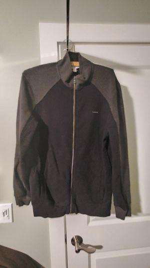 Calvin Klein fleece zip-up. Mens Size M slim fit for Sale in Traverse City, MI