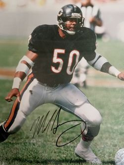 Signed Mike Singletary Photo for Sale in Springfield,  IL