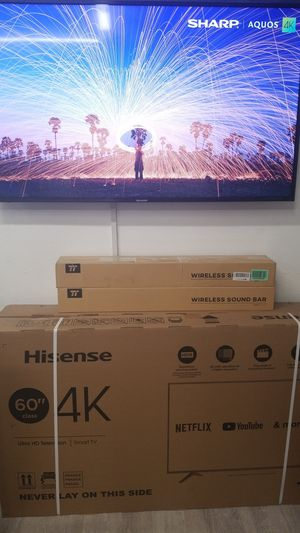 60 inch tv 4k smart 120 hz for Sale in Chino Hills, CA