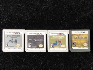 Nintendo 3DS DS FIRE EMBLEM GAMES LOT AWAKENING CONQUEST ECHOES SHADOW DRAGON for Sale in Atlanta, GA