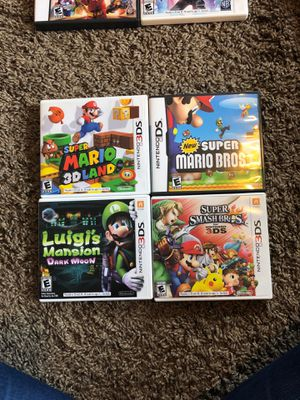 Nintendo 3ds games Mario for Sale in Snohomish, WA