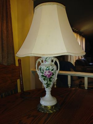 Hand painted lamp for Sale in Chatham, VA
