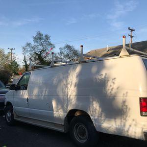 2000 Ford E350 Extended **long body** Cargo work van 146k miles 4 ladders & work shelves for Sale in Arlington, VA