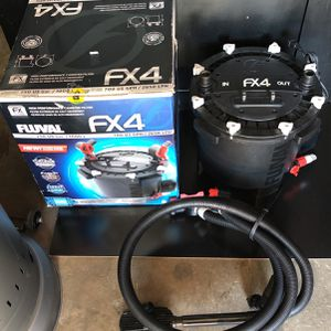 Fish Tank Aquarium Fluval Fx4 Canister Filter for Sale in Long Beach, CA