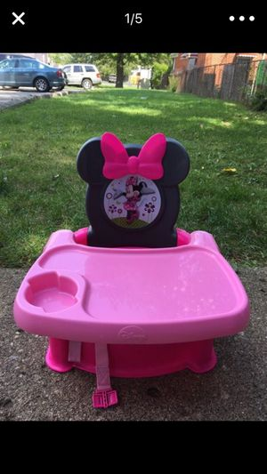 Minnie mouse high chair for kids for Sale in Dearborn, MI