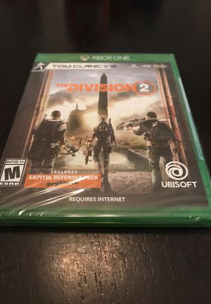 Xbox One The Division 2 - Brand New Sealed for Sale in Pearland, TX