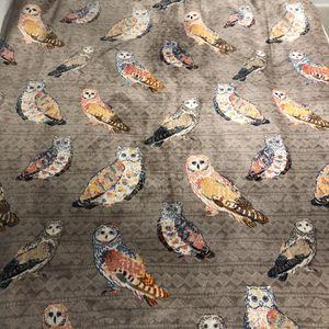 VELVET PLUSH Throw Owl Blanket for Sale in Arlington, VA