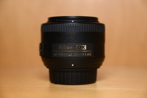 Nikon 35mm f1.8g DX for Sale in San Francisco, CA