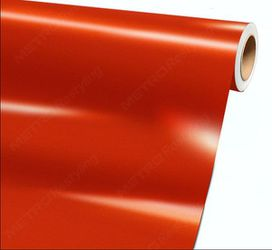 Gloss Lava Orange Fire Orange Car Wrap Vinyl Full Roll - Car Vinyl Wrap Roll - 5ft x 60ft (CAST VINYL) for Sale in Fullerton,  CA