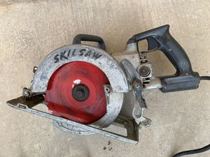 "Skil Model 77, 71/4"" Worm drive circular saw. for Sale in Tucson, AZ"