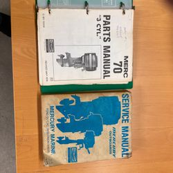 Mercury Outboard Service Manual and Parts Manual for Sale in Spring Valley,  CA