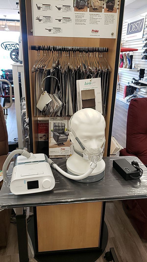 Dreamstation, ResMed, Phillips CPAP machine and supplies