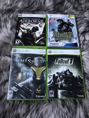 Bundle of Xbox 360 games Fallout Medal of Honor Madden for Sale in West Valley City, UT
