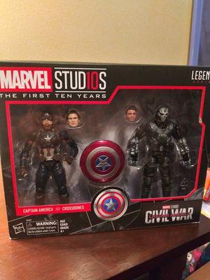 Marvel legends captain America civil war 2 pk for Sale in South Gate, CA