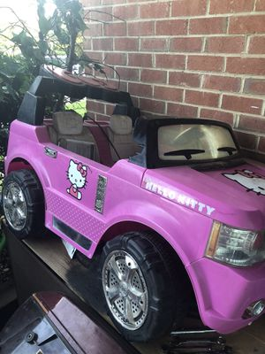 Hello kitty ride on car for Sale in Sterling, VA