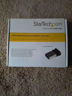 Star tech usb bluetooth adapter for Sale in Montgomery, AL