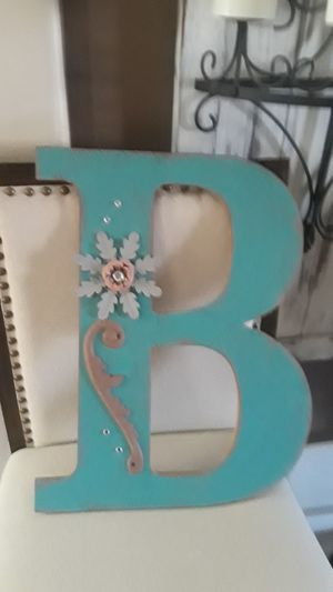 Home decor letter B for Sale in Goodyear, AZ