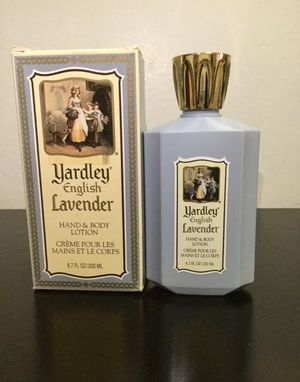 Vintage Yardley English Lavender Hand and Body Lotion 200ml for Sale in Brooklyn, NY